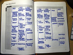 full focus planner - ideal week