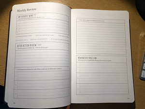 full focus planner - weekly review
