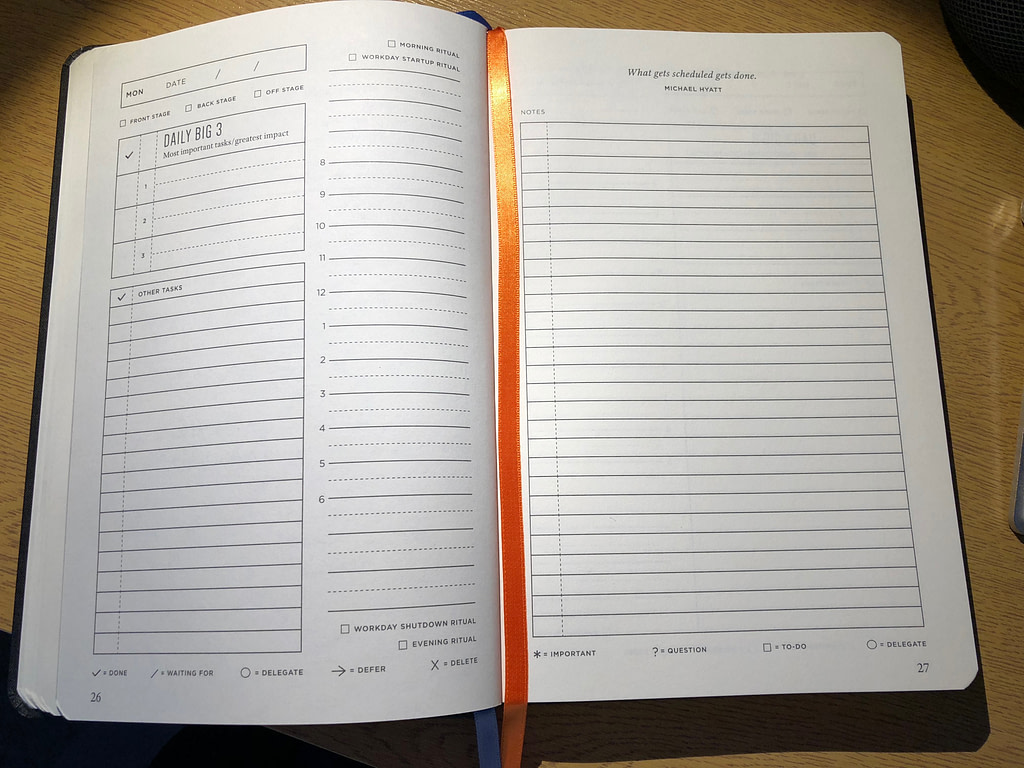 full focus planner - daily pages